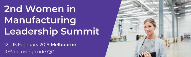 2nd Women in Manufacturing Leadership Summit
