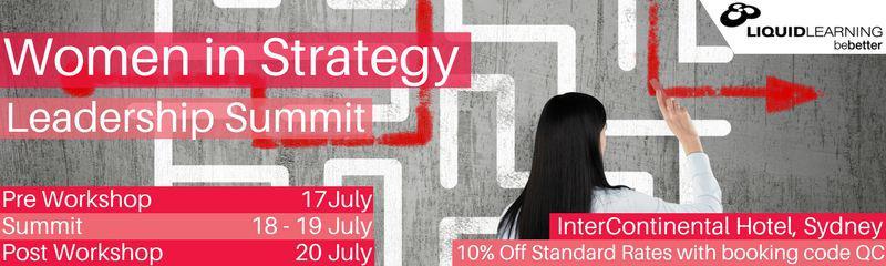 Women in Strategy Leadership Summit