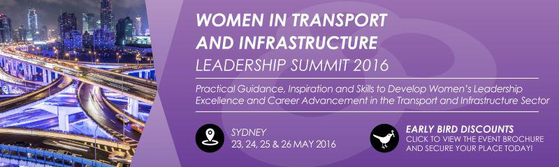 Women in Transport and Infrastructure Leadership Summit 2016