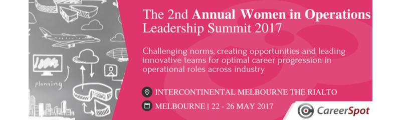 The 2nd Annual Women in Operations Leadership Summit 2017